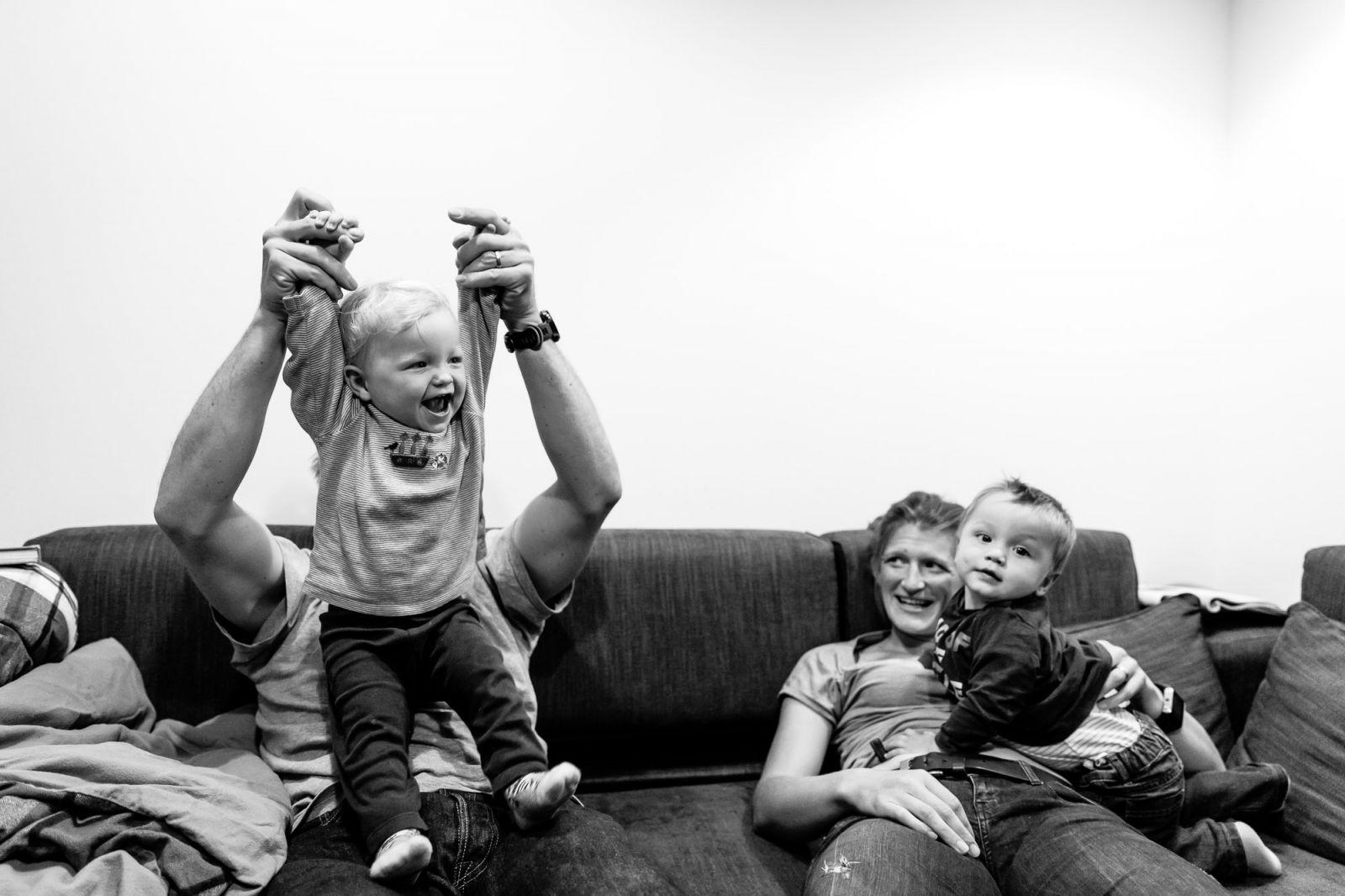 Familienreportage mit Kleinkind Rendsburg Zuhause